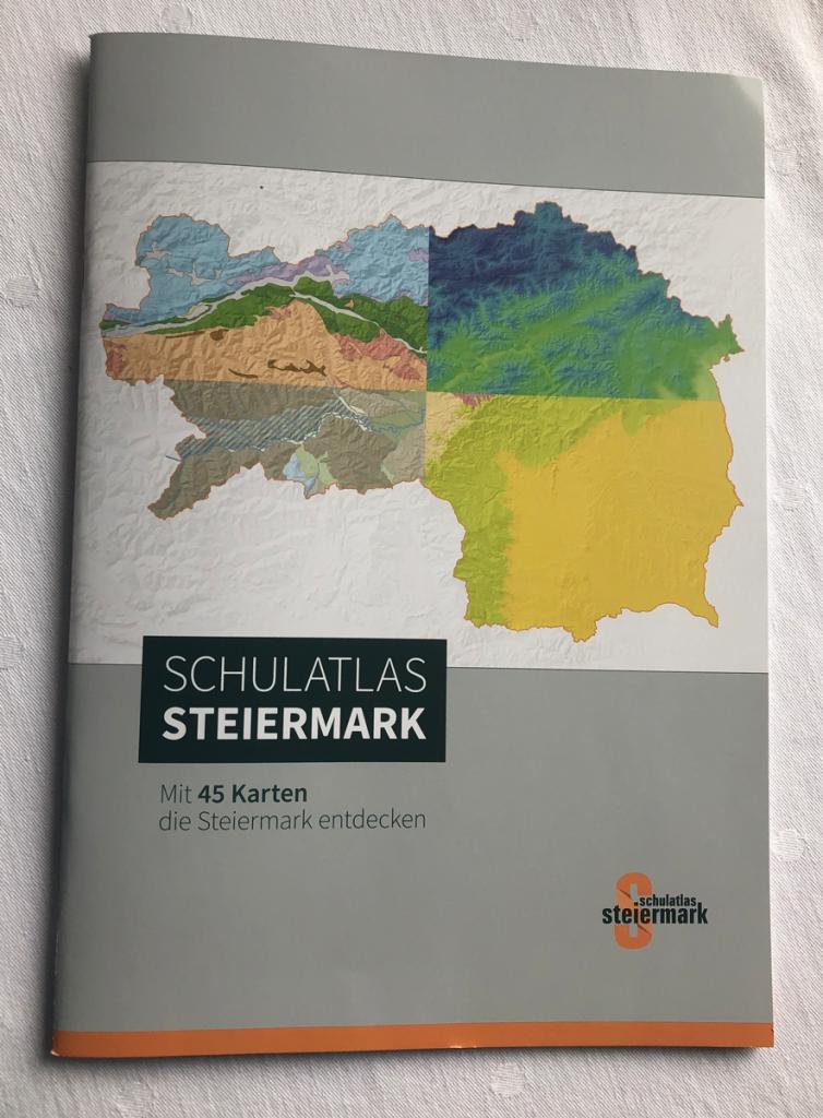 Schulatlas Steiermark Titelseite
